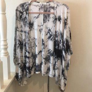 Ginger G Tie-Dye Kimono Size Large